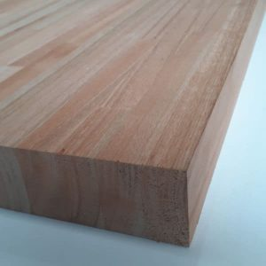 Tablero Eucalyptus Finger Clear 120×300 40mm