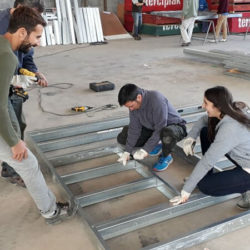 Capacitación Steel Framing Con Barbieri