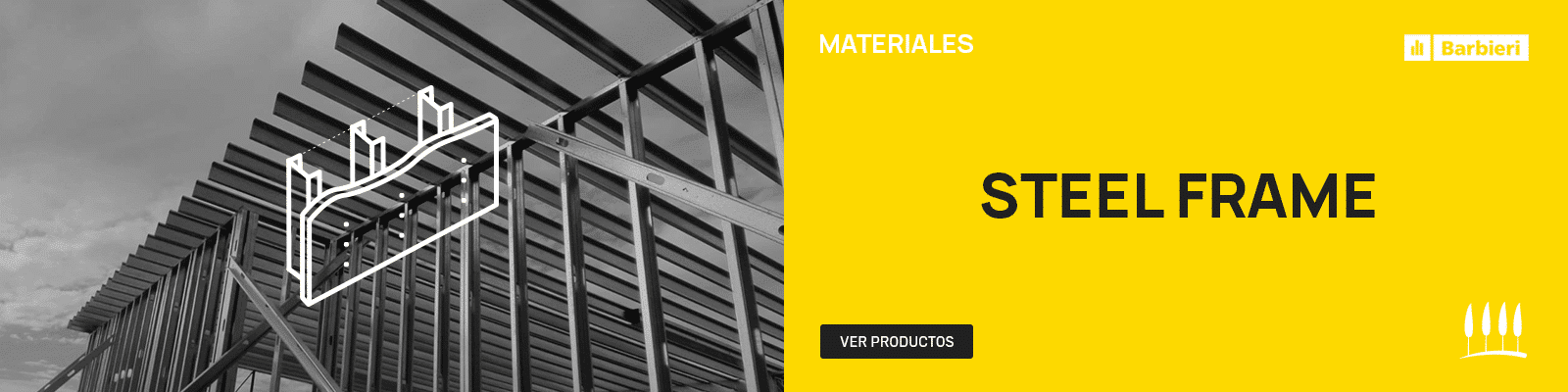 Productos Steel Frame en La Foresta
