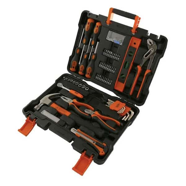 Set de herramientas manuales 153 piezas BMT153 Black+Decker