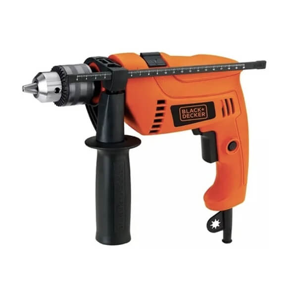 Taladro Percutor con maletín 13mm 550w HD555K Black+Decker
