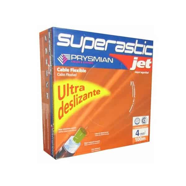 Cable Superastic Jet 1 x 4mm² x 100mts - Prysmian