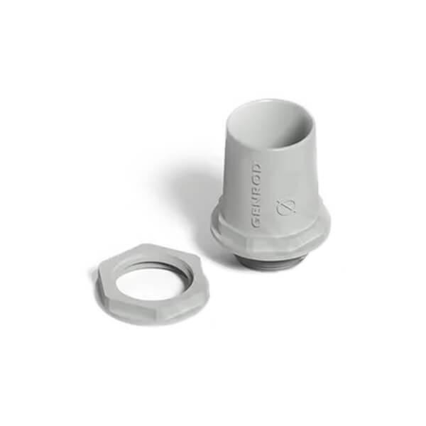 Conector Para Tubo Rígido y Corrugado PVC 25mm - Genrod