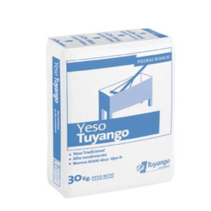 Yeso Tuyango Tradicional 30Kg