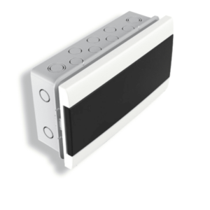Caja De Embutir Para TM Q Energy (12 Módulos DIN) – Puerta Fume
