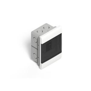 Caja De Embutir Para TM (8 Módulos DIN) – Puerta Fume