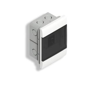 Caja De Embutir Para TM (4 Módulos DIN) – Puerta Fume